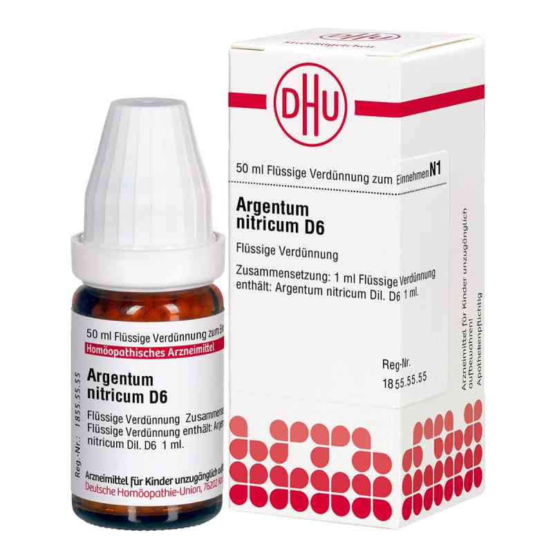 Argentum Nitricum D 6 Dil. zamów na apo-discounter.pl