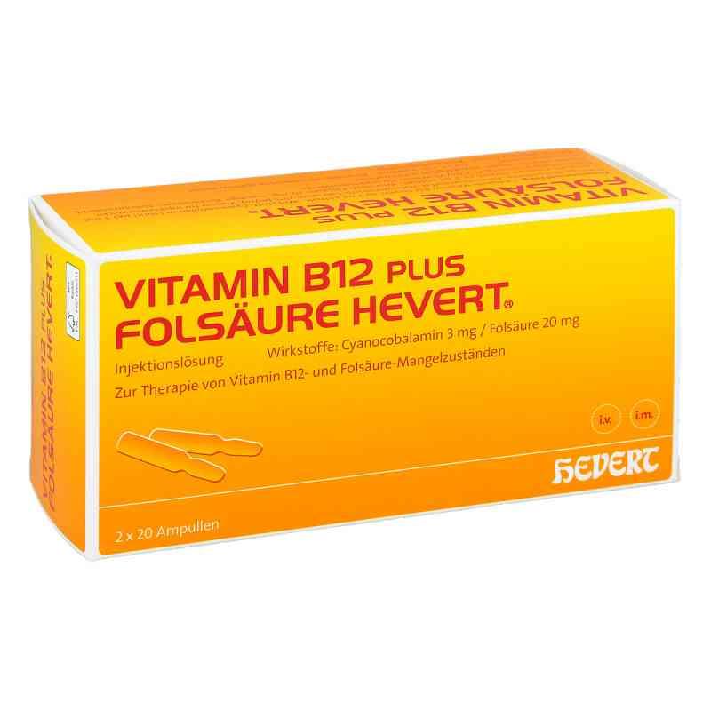 Vitamin B12 plus Folsäure Hevert [a-akut] 2 ml Amp  zamów na apo-discounter.pl