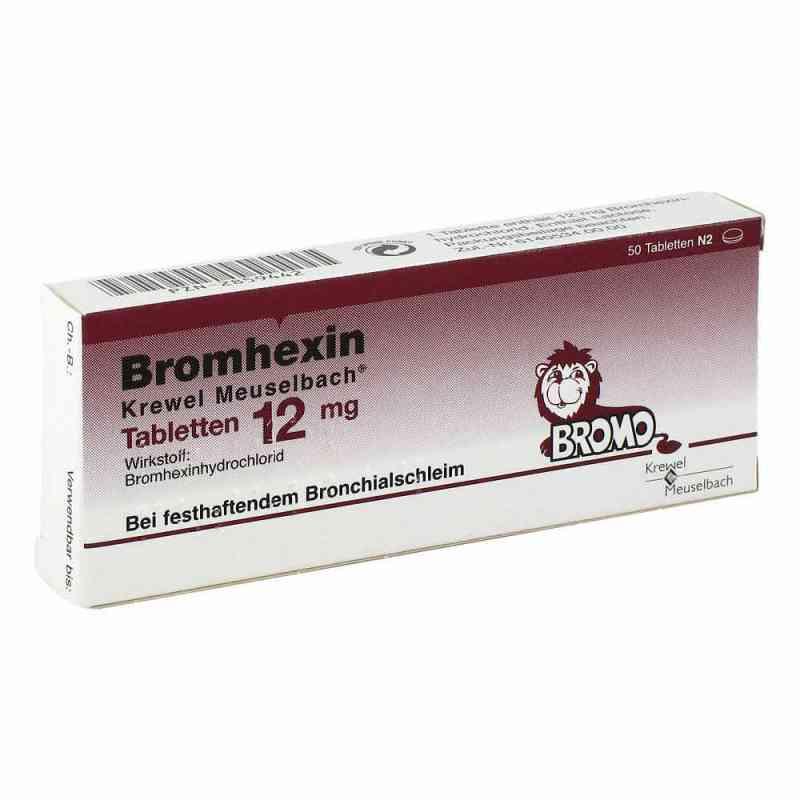 Bromhexin Krewel Meuselb.tabletten 12mg  zamów na apo-discounter.pl