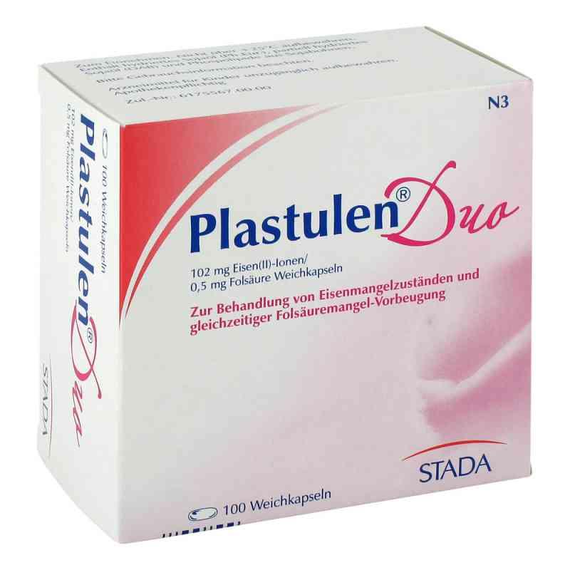 Plastulen Duo 102mg Eisen/0,5mg Folsae.kps.  zamów na apo-discounter.pl