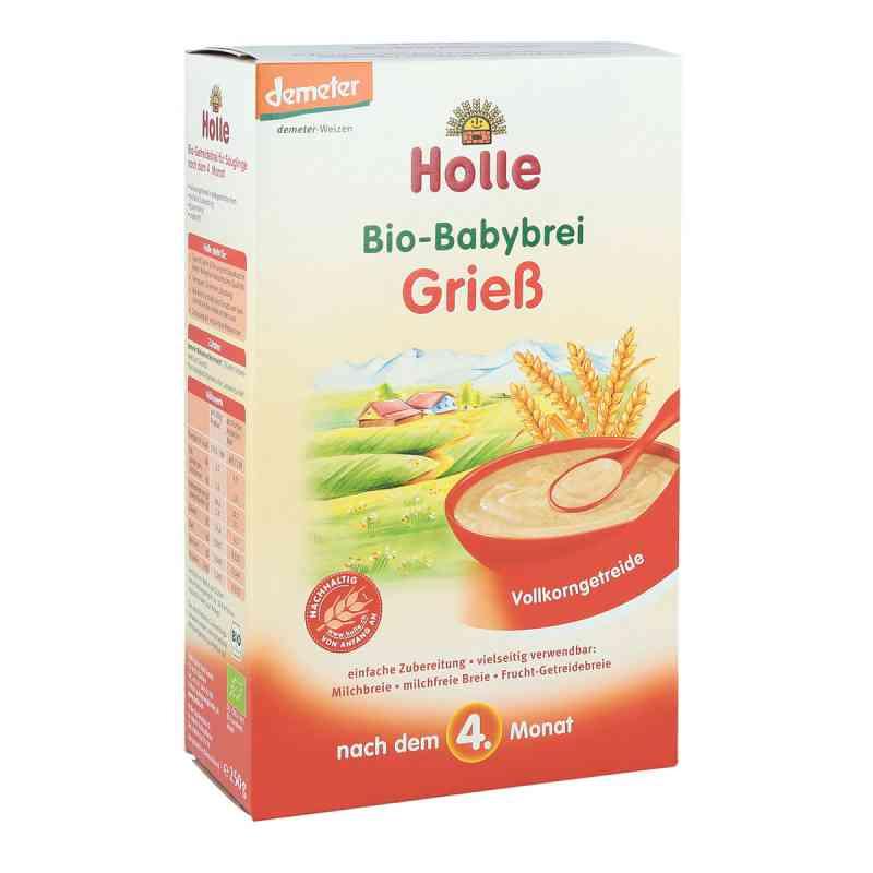 Holle Bio Babybrei Griess kaszka manna (grysikowa)  zamów na apo-discounter.pl