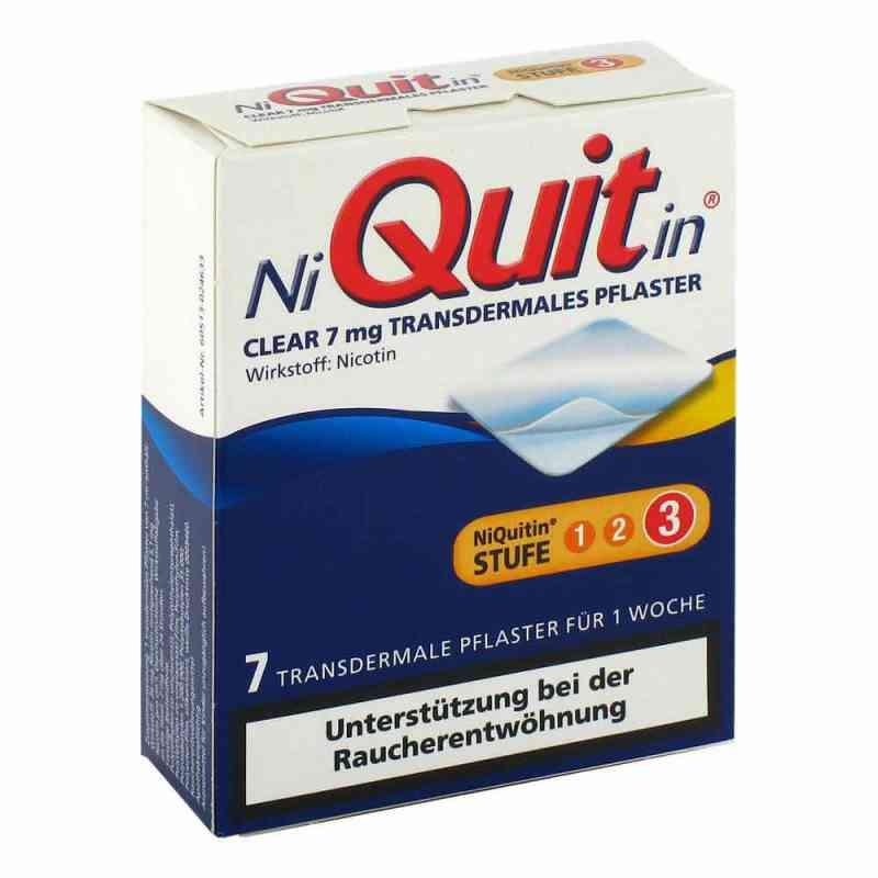 Niquitin Clear 7 mg Pflaster, transdermal zamów na apo-discounter.pl