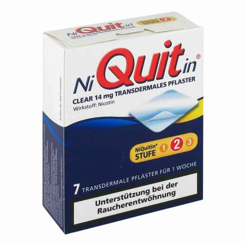 Niquitin Clear 14 mg Pflaster, transdermal  zamów na apo-discounter.pl