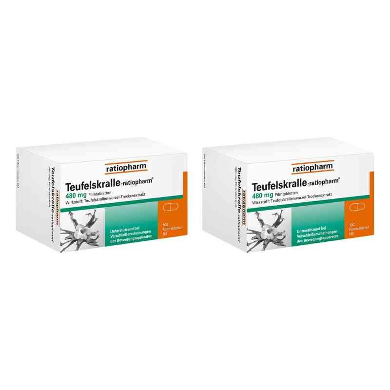 Ratiopharm Czarci Pazur, tabletki powlekane 480 mg  zamów na apo-discounter.pl
