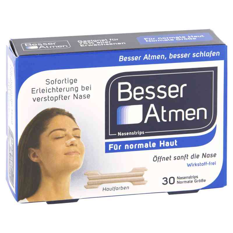 Breath Right paski na nos (beżowe) normalny rozmiar zamów na apo-discounter.pl