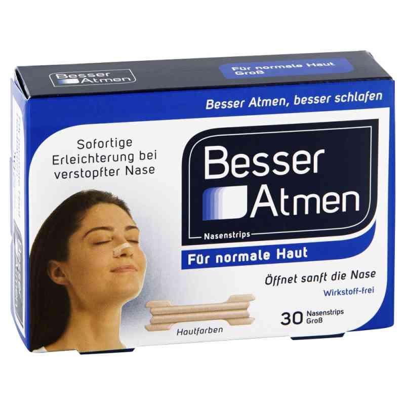 Breath Right paski na nos dla dorosłych  (beżowe) duże zamów na apo-discounter.pl