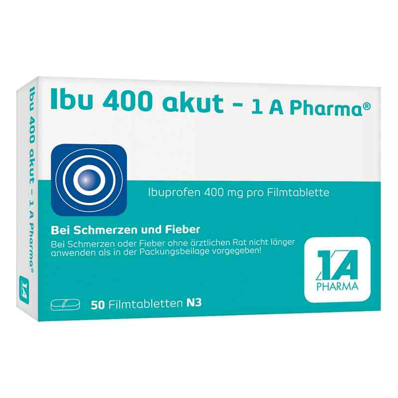 Ibu 400 akut 1a Pharma Filmtabl.  zamów na apo-discounter.pl