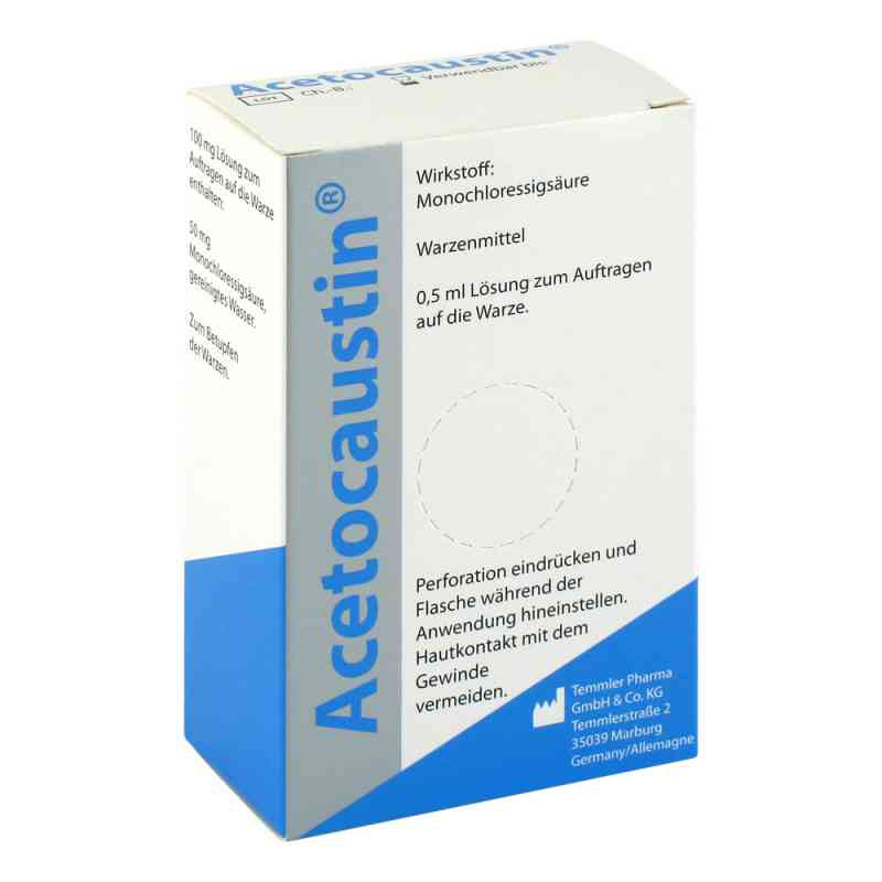 Acetocaustin likwidacja brodawek  zamów na apo-discounter.pl