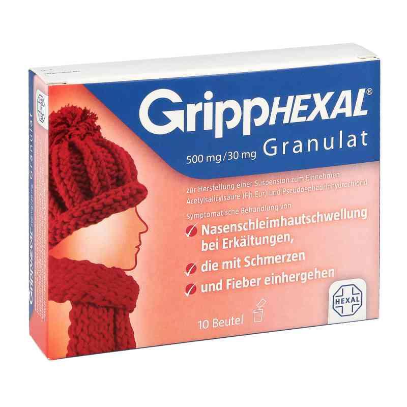 GrippHEXAL granulat saszetki 500mg/30mg  zamów na apo-discounter.pl