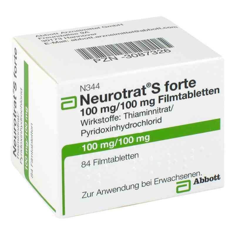 Neurotrat S forte Filmtabl. zamów na apo-discounter.pl