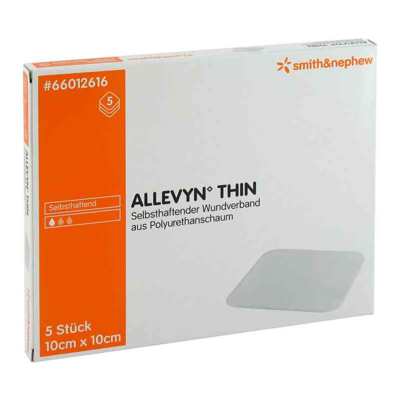 Allevyn Thin 10x10cm duenne Wundaufl.  zamów na apo-discounter.pl