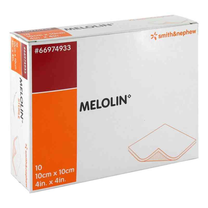 Melolin 10x10cm Wundauflagen steril zamów na apo-discounter.pl