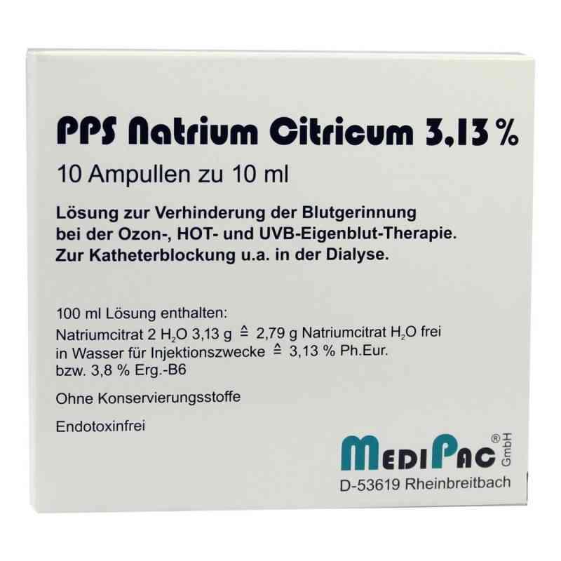 Natriumcitrat 3,13% Amp.  zamów na apo-discounter.pl