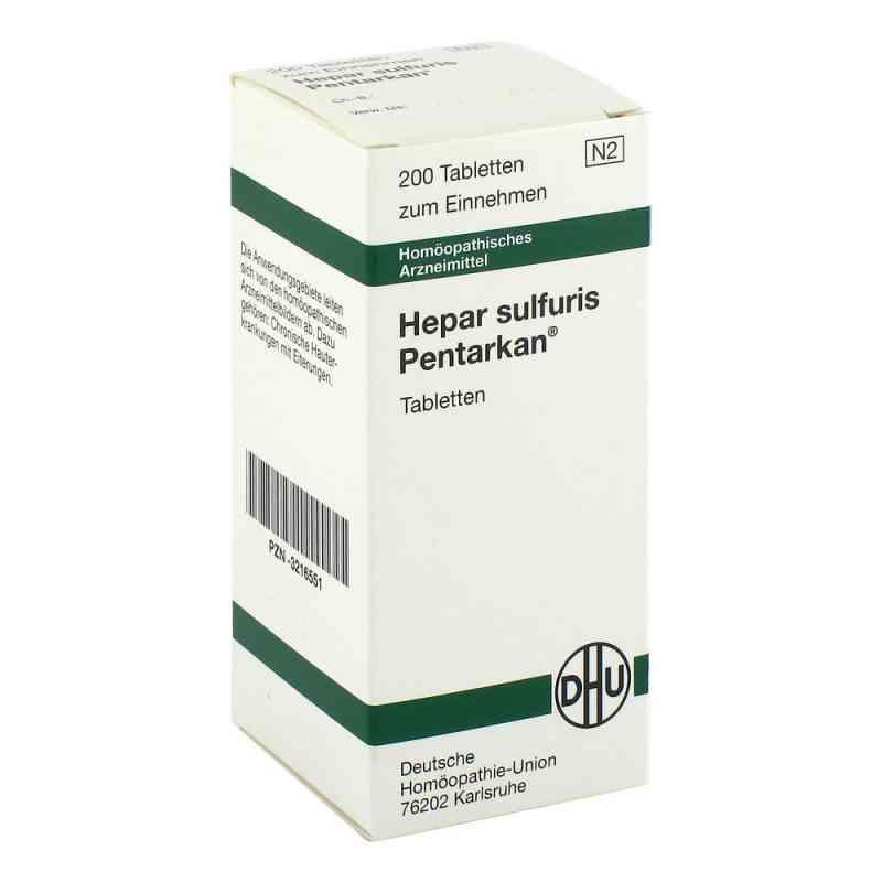 Hepar Sulfuris Pentarkan Tabl. zamów na apo-discounter.pl