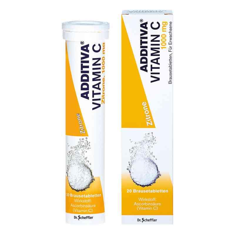 Additiva Vitamin C 1 g tabletki musujące  zamów na apo-discounter.pl