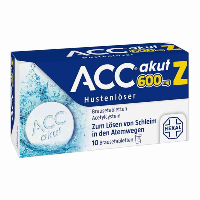 Acc akut 600 Z Hustenloeser Brausetabl.  zamów na apo-discounter.pl