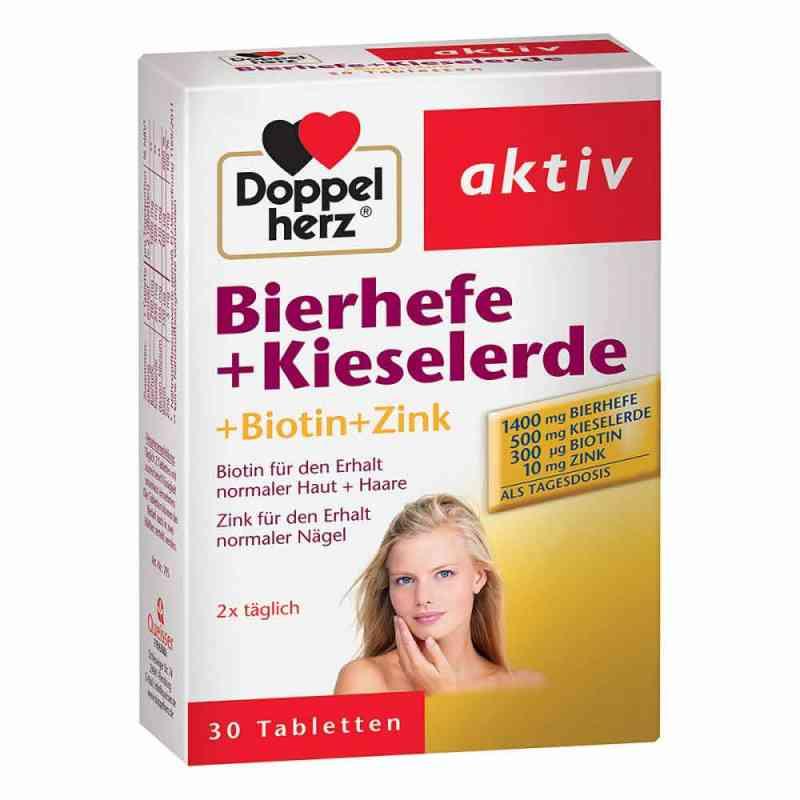 Doppelherz drożdże piwne+krzemionka tab.  zamów na apo-discounter.pl