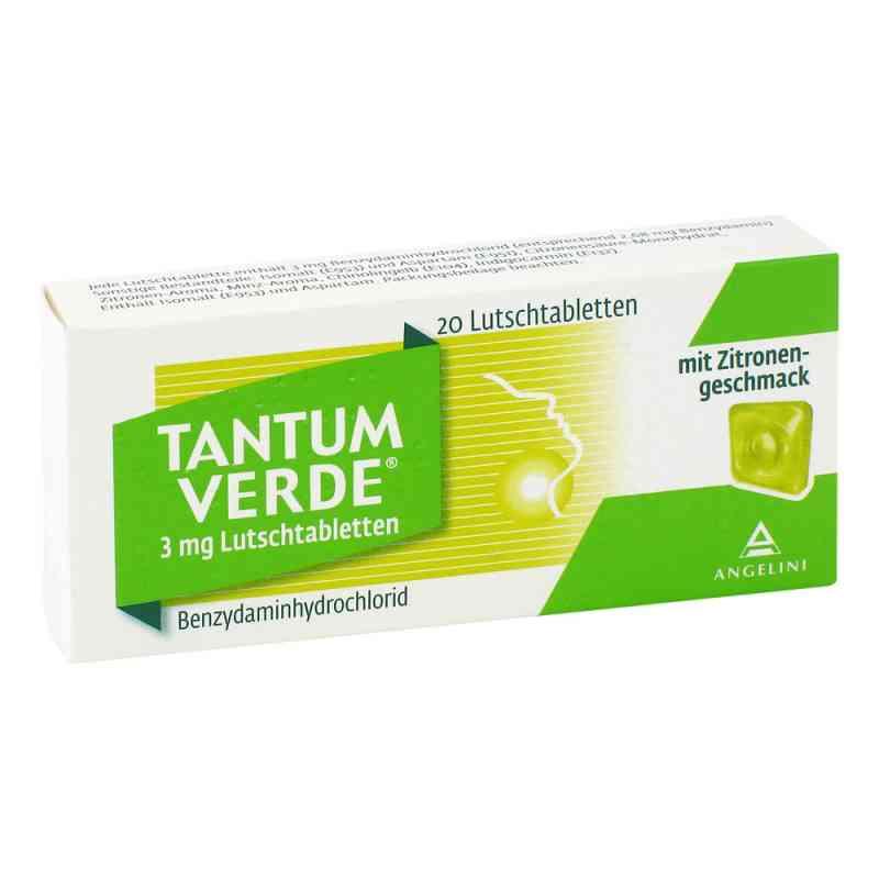 Tantum Verde 3 mg mit Zitronengeschmack Lutschtab.  zamów na apo-discounter.pl