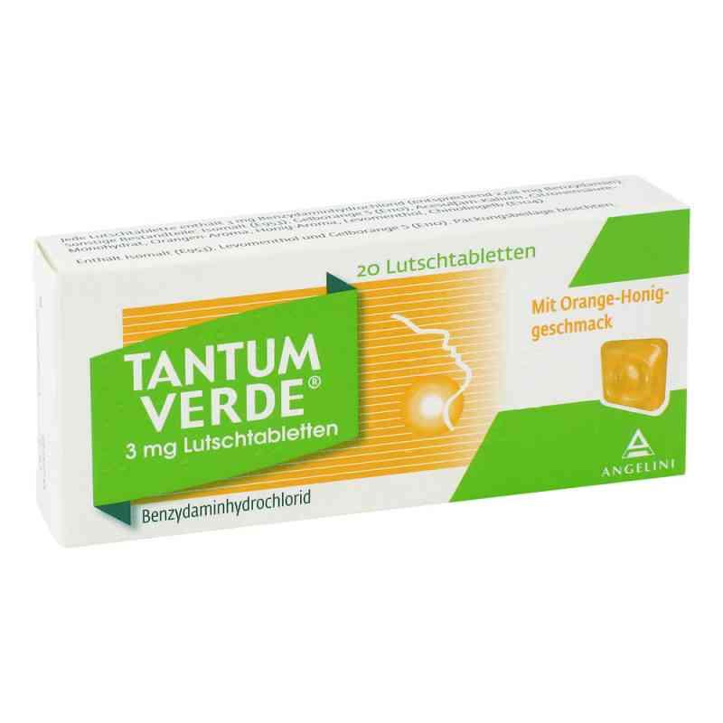 Tantum Verde 3 mg Lutschtabletten mit orange-honiggeschm. zamów na apo-discounter.pl