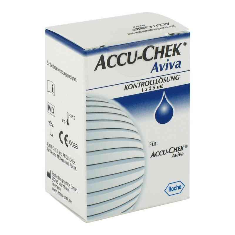 Accu Chek Aviva roztwór kontrolny  zamów na apo-discounter.pl