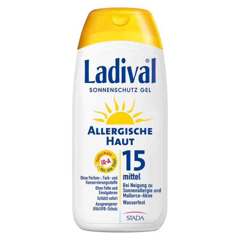 Ladival żel do skóry alergcznej z filtrem SPF15  zamów na apo-discounter.pl