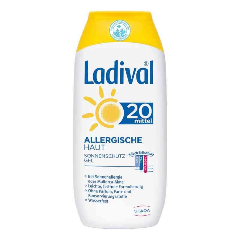 Ladival żel do skóry alergcznej z filtrem SPF20  zamów na apo-discounter.pl