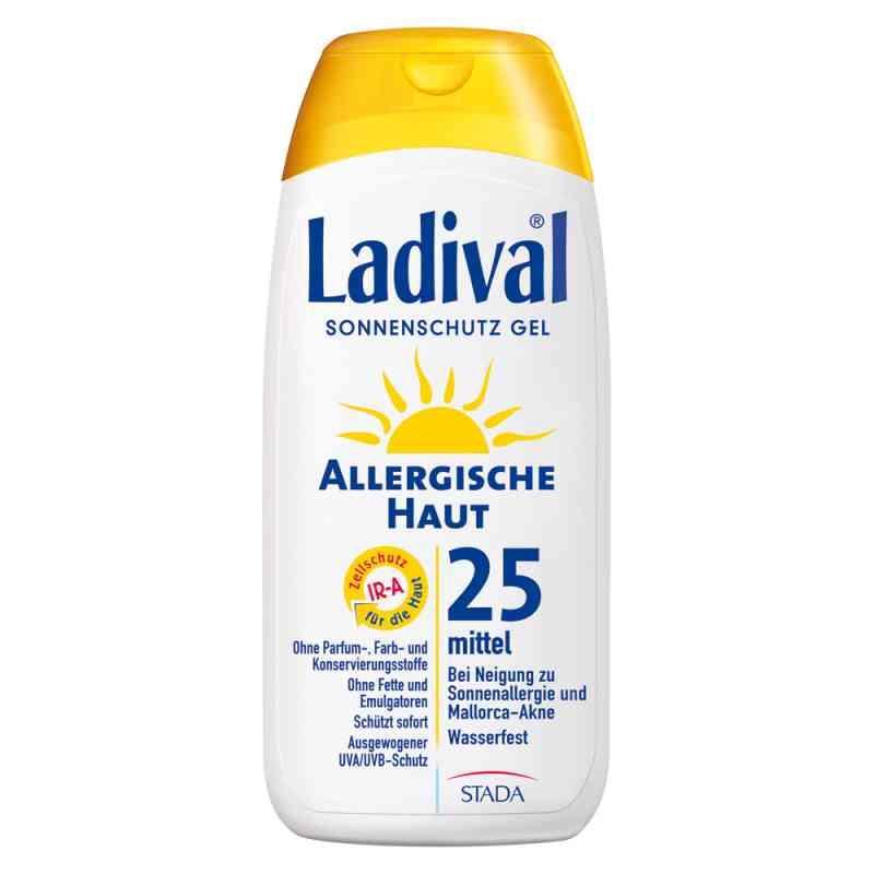 Ladival żel do skóry alergicznej z filtrem SPF25  zamów na apo-discounter.pl