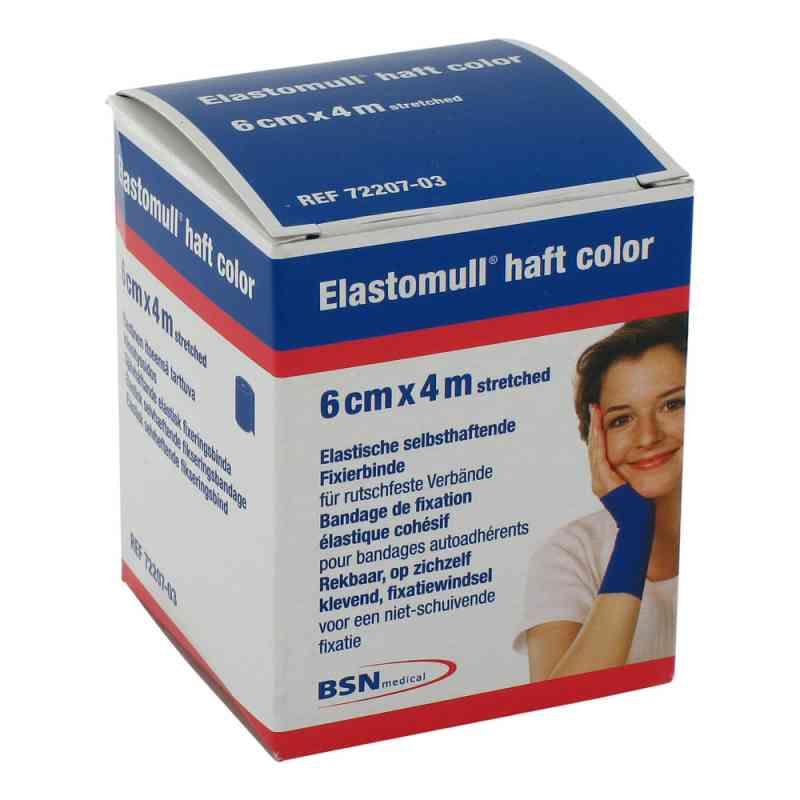 Elastomull 4mx6cm opaska uciskowa niebieska zamów na apo-discounter.pl