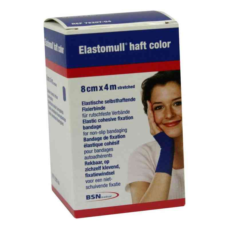 Elastomull haft 4mx8cm 72207-04 blau Fixierb.  zamów na apo-discounter.pl