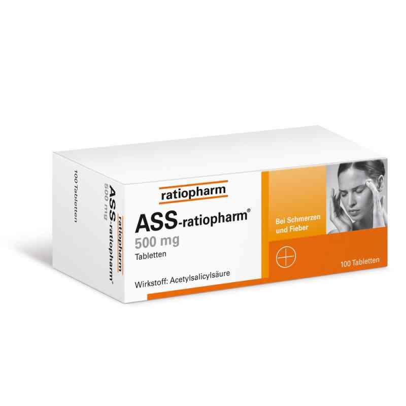 ASS ratiopharm 500 mg tabletki  zamów na apo-discounter.pl