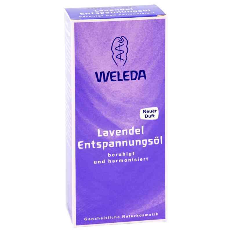 Weleda Odprężający olejek lawendowy  zamów na apo-discounter.pl