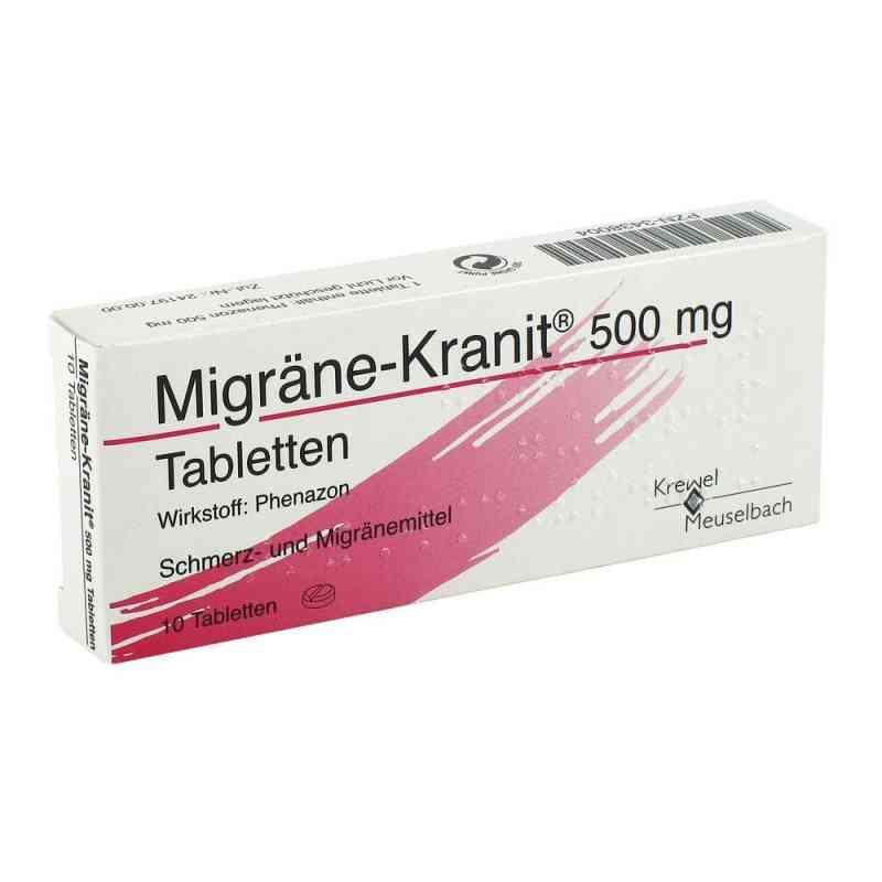 Migraene Kranit 500 mg Tabletten  zamów na apo-discounter.pl