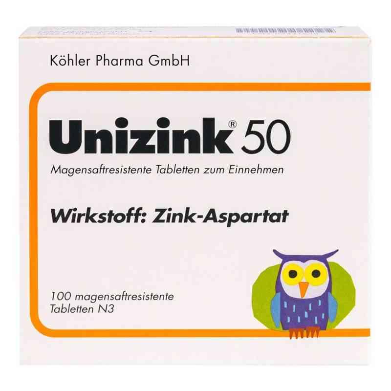 Unizink 50 Tabl. magensaftr.  zamów na apo-discounter.pl