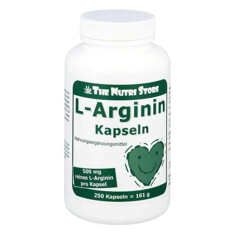 L-arginin 500 mg kapsułki  zamów na apo-discounter.pl
