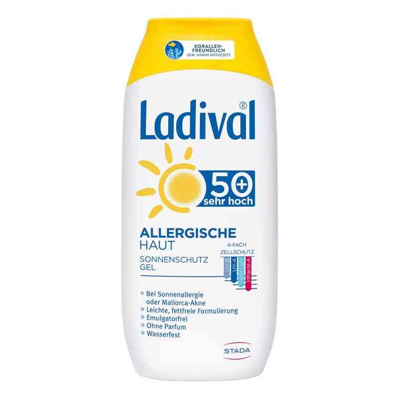 Ladival Żel przeciwsłoneczny dla skóry alergicznej, Lsf50+  zamów na apo-discounter.pl