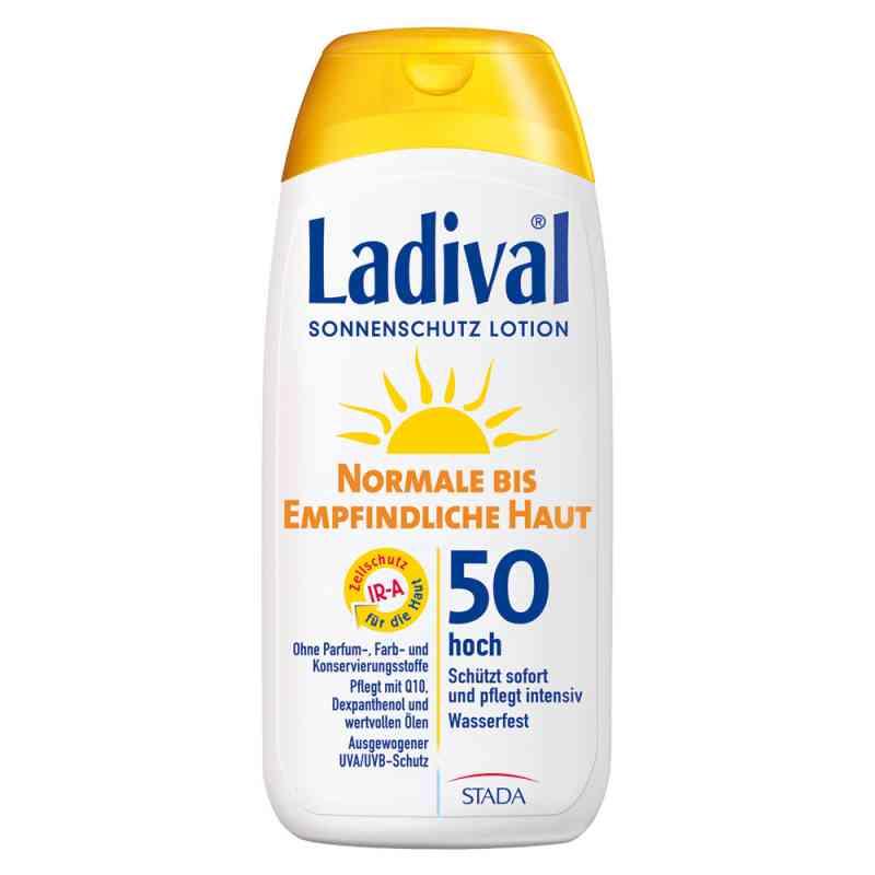 Ladival balsam do skóry normalnej i wrażliwej SPF50 zamów na apo-discounter.pl