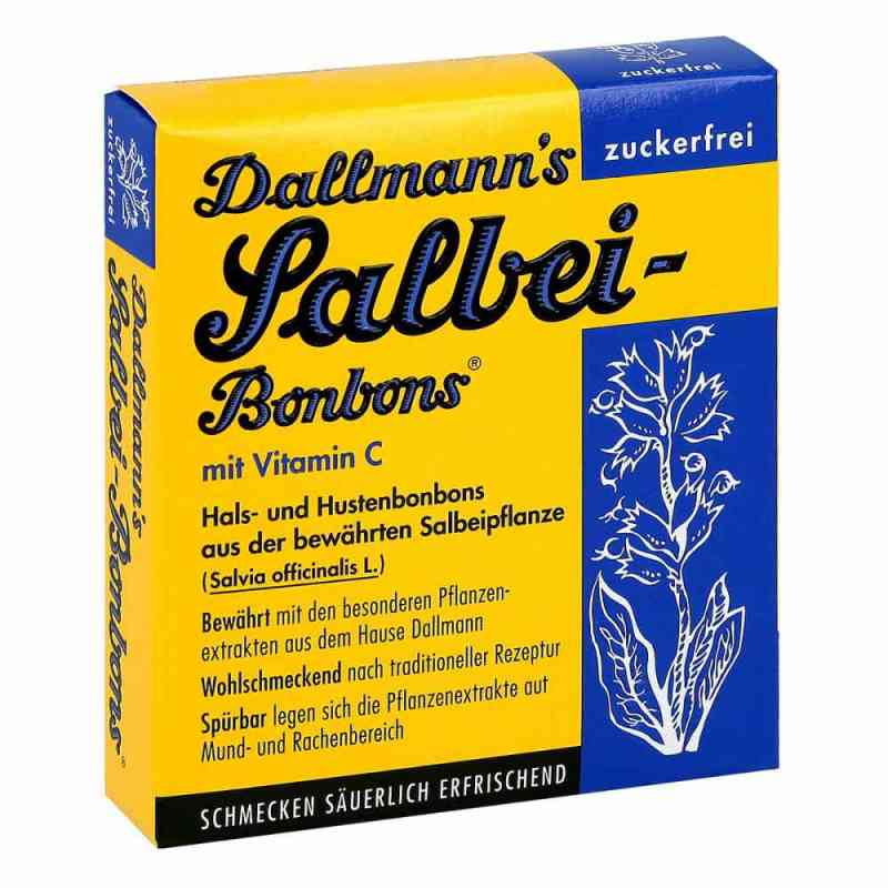 Dallmann's cukierki z szałwią bez cukru  zamów na apo-discounter.pl