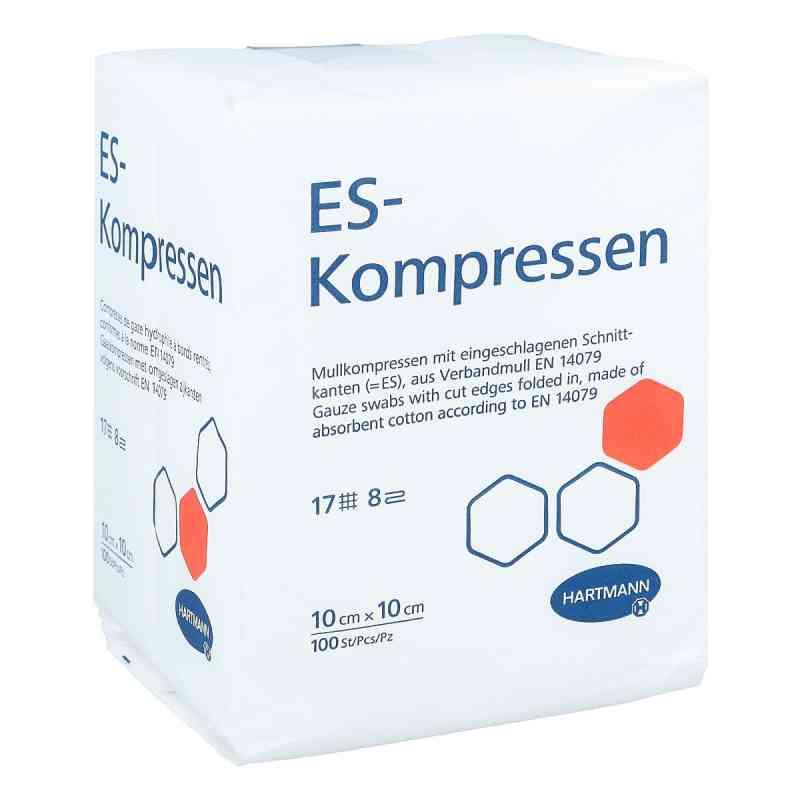Es-kompressen unsteril 10x10 cm 8fach Cpc  zamów na apo-discounter.pl