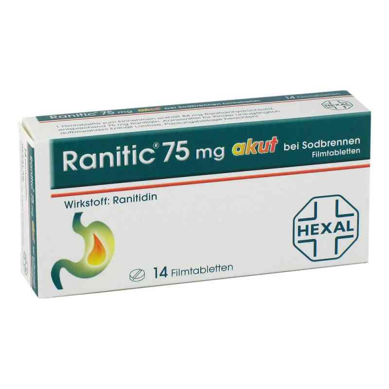 Ranitic 75 akut bei Sodbrennen Filmtabl.  zamów na apo-discounter.pl