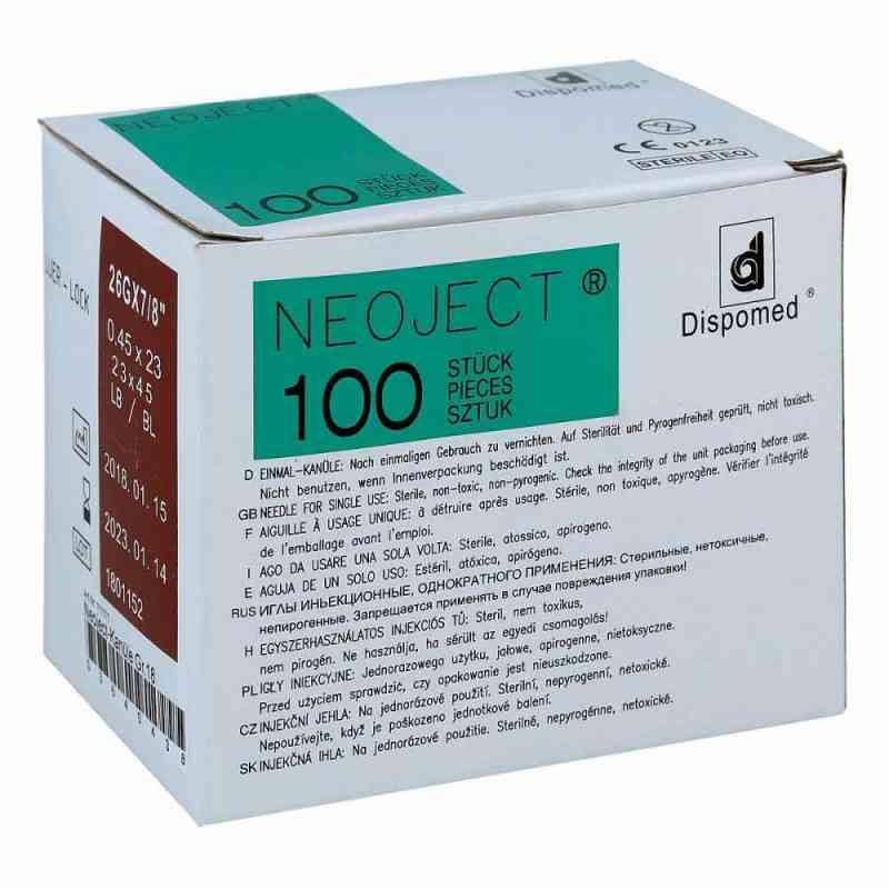 Kanuelen Einmal Neoject Gr.18 0,45x23mm  zamów na apo-discounter.pl