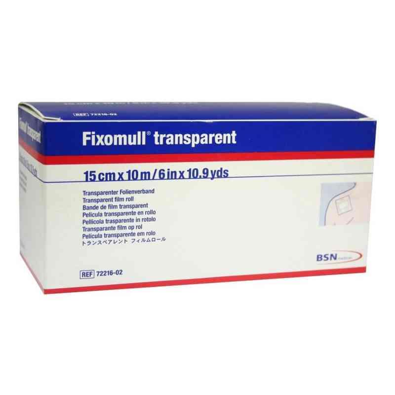 Fixomull transparent 10mx15cm 1 szt. od BSN medical GmbH PZN 03643218