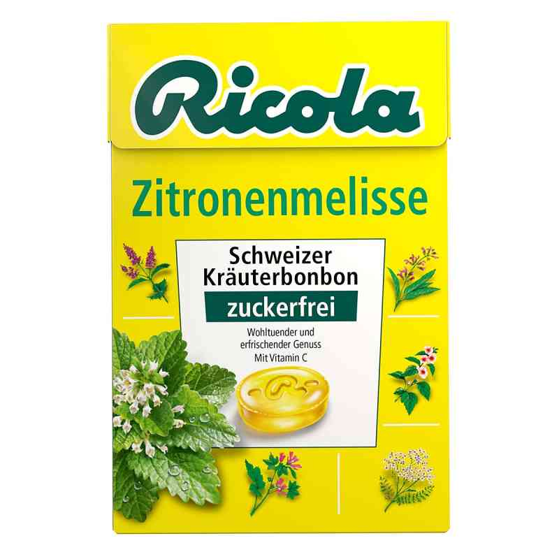 Ricola cukierki cytrynowe z melisą bez cukru - pudełko  zamów na apo-discounter.pl