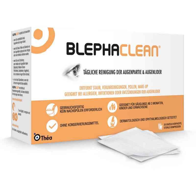 Blephaclean kompresy sterylne zamów na apo-discounter.pl