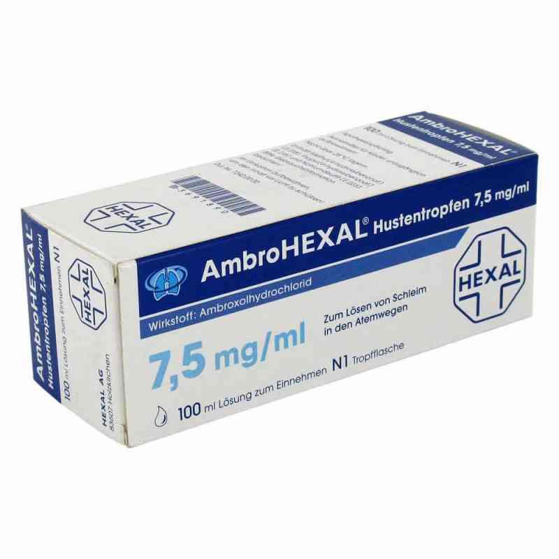 Ambrohexal Hustentropfen 7,5 mg/ml  zamów na apo-discounter.pl