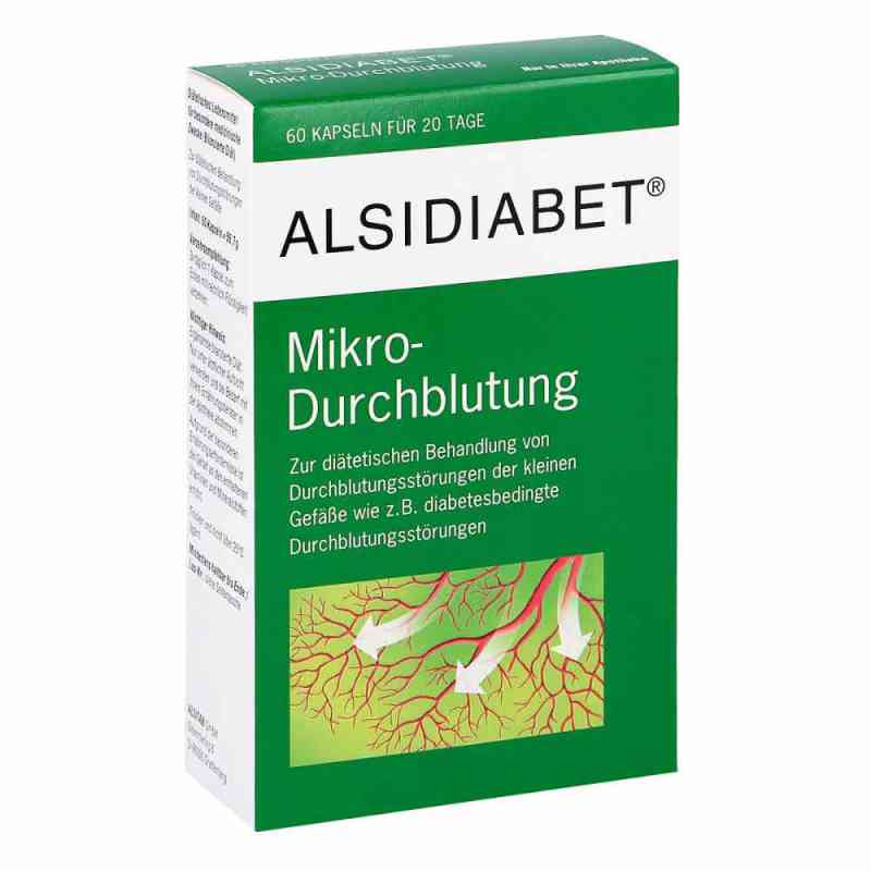 Alsidiabet Diabetiker Mikro kapsułki na ukrwienie  zamów na apo-discounter.pl