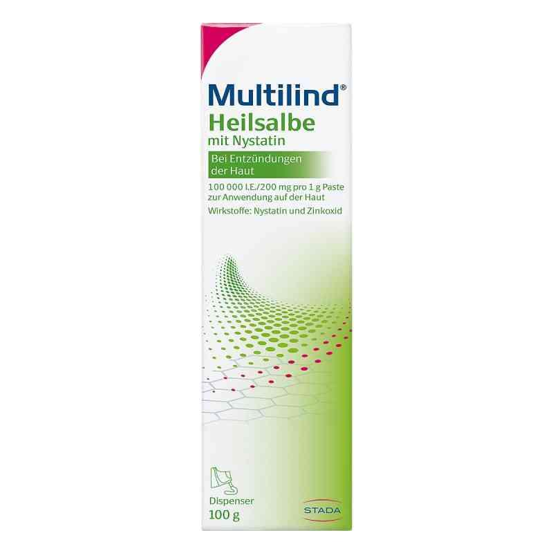 Multilind Heilsalbe m.Nystatin  zamów na apo-discounter.pl