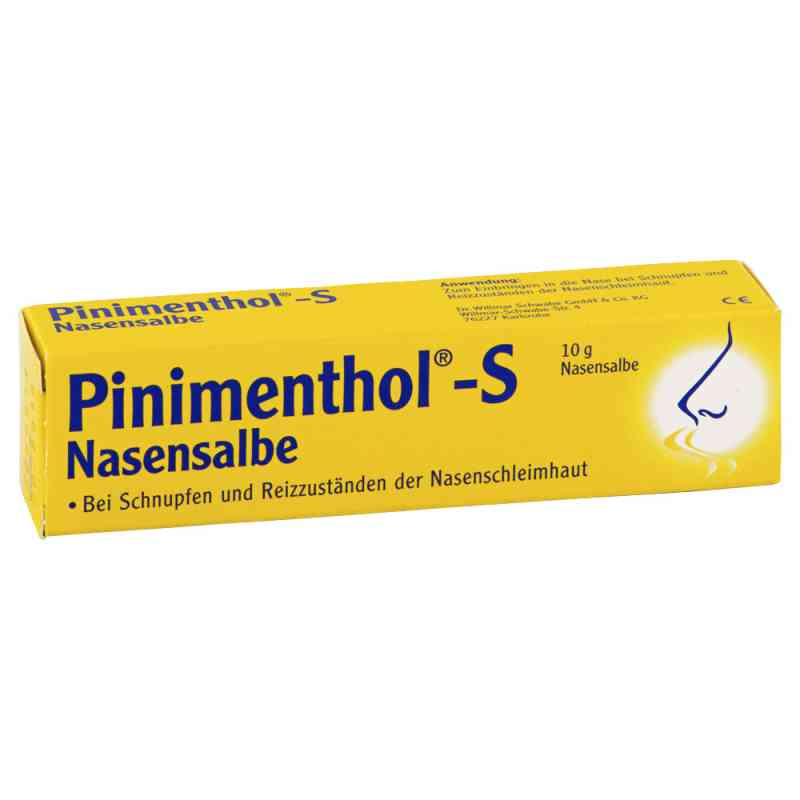 Pinimenthol S maść do nosa  zamów na apo-discounter.pl