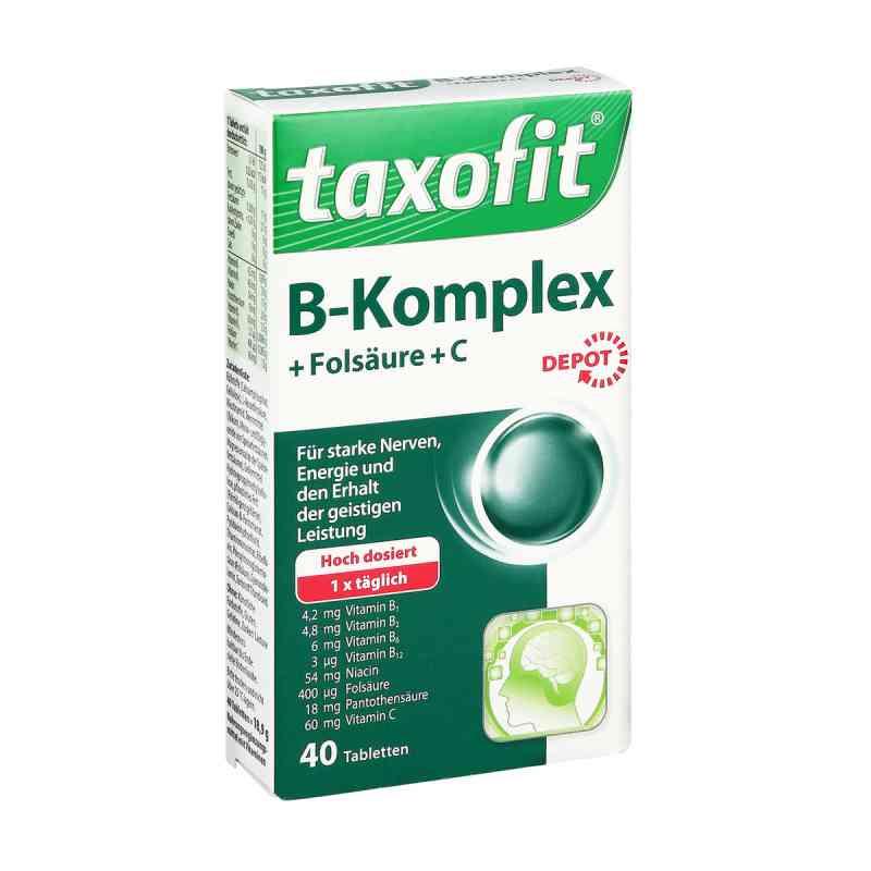 Taxofit Vitamin B-Komplex® Tabletki o przedłużonym uwalnianiu z  zamów na apo-discounter.pl