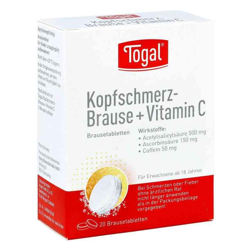 Togal Kopfschmerz-brause + Vit. C Brausetabl.  zamów na apo-discounter.pl