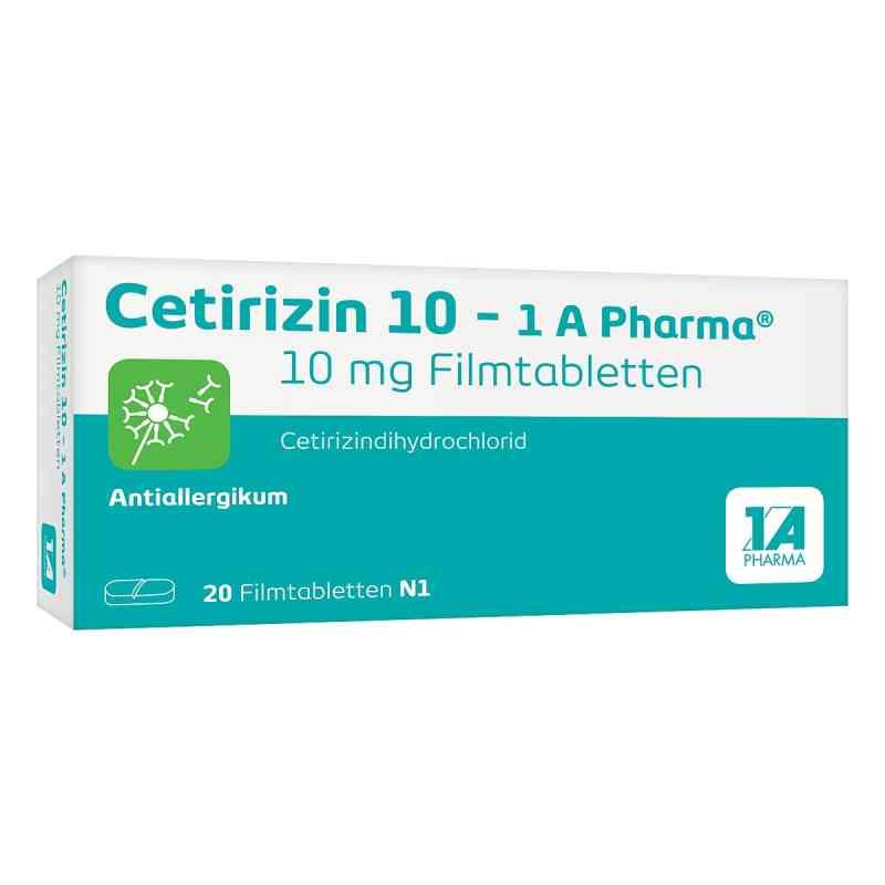 Cetirizin 10 1a Pharma Filmtabl.  zamów na apo-discounter.pl